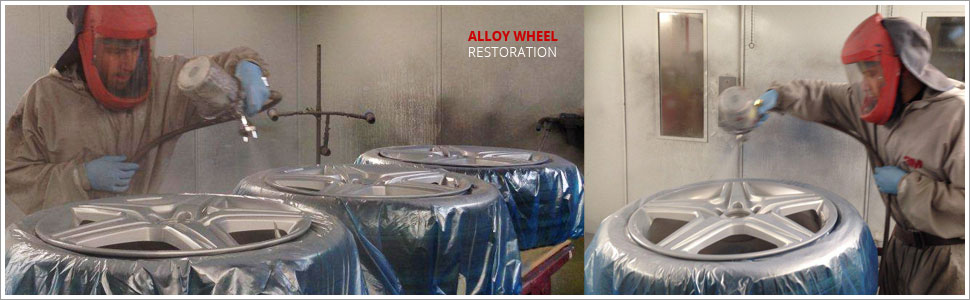 alloy wheel restoration